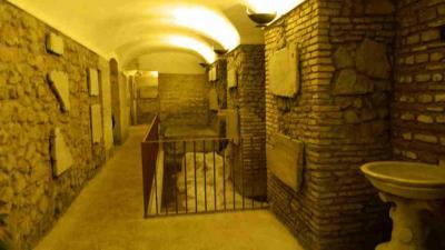 Sotterranei della chiesa di Santa Cecilia in Trastevere