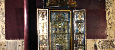 I sotterranei della Scala Santa e il Sancta Santorum