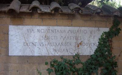 Catacomba S.Alessandro