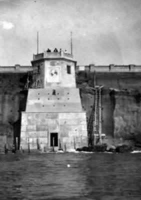 Sede di partenza del cavo telefonico Roma - New York (1925)