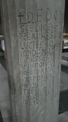 Sotterranei della basilica di San Nicola in Carcere