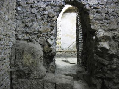 Sotterranei della Basilica di Santa Sabina