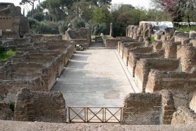 Villa Adriana - Hospitalia